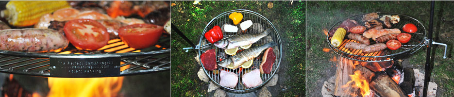 Camp Fire Cooking Grills